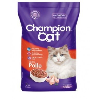 Champion Cat Pollo 8 Kgr