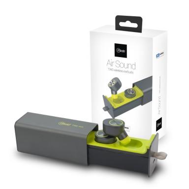 Audifonos TWS Microlab Air Sound Metallic