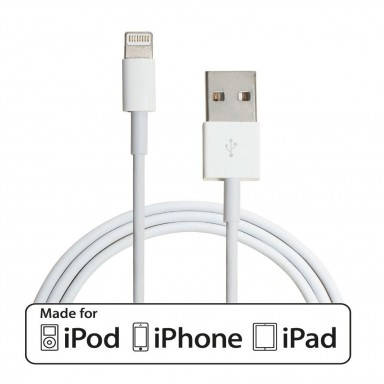 Cable Lightning certificado para Apple iphone, ipad o ipod
