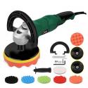 Pulidor de coche de 1200W velocidad Variable 3000rpm herramienta de cuidado de pintura de coche lijadora 220V M14 pulidor de ...