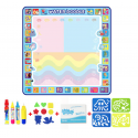 Alfombra de dibujo de agua de tamaño grande 120*90cm con bolígrafo mágico tablero de pintura alfombra de niños juguetes de Fo...