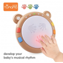 Tumama, juguetes musicales para bebés, tambores de mano, instrumentos musicales para niños, juguetes para bebés de 6 a 12 mes...