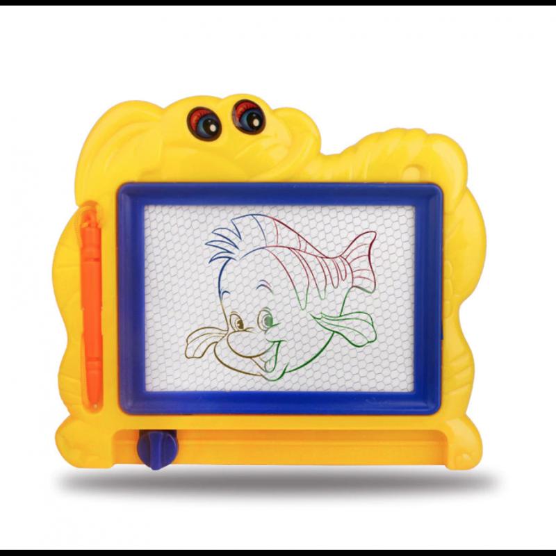 Juego de pintura de plástico para niños, Kits de creatividad para dibujar plantillas magnéticas de luz, juguetes de dibujo pa...