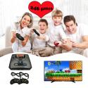 Mini videotv juego 16 bits para consola SEGA MD 2 salida AV Super controlador juegos de mano con cable Gamepad incorporado 36...