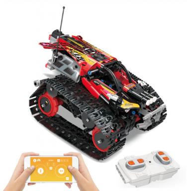 Technic RC Seguimiento de bloques de construcción de carreras ajuste Legoing creador 42095 APP Control remoto coche ladrillos ju
