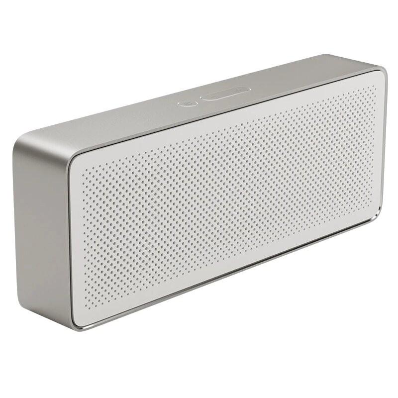 Xiaomi Original mi Altavoz Bluetooth caja cuadrada 2 Xiaomi altavoz 2 estéreo cuadrado portátil V4.2 calidad de sonido de alt...