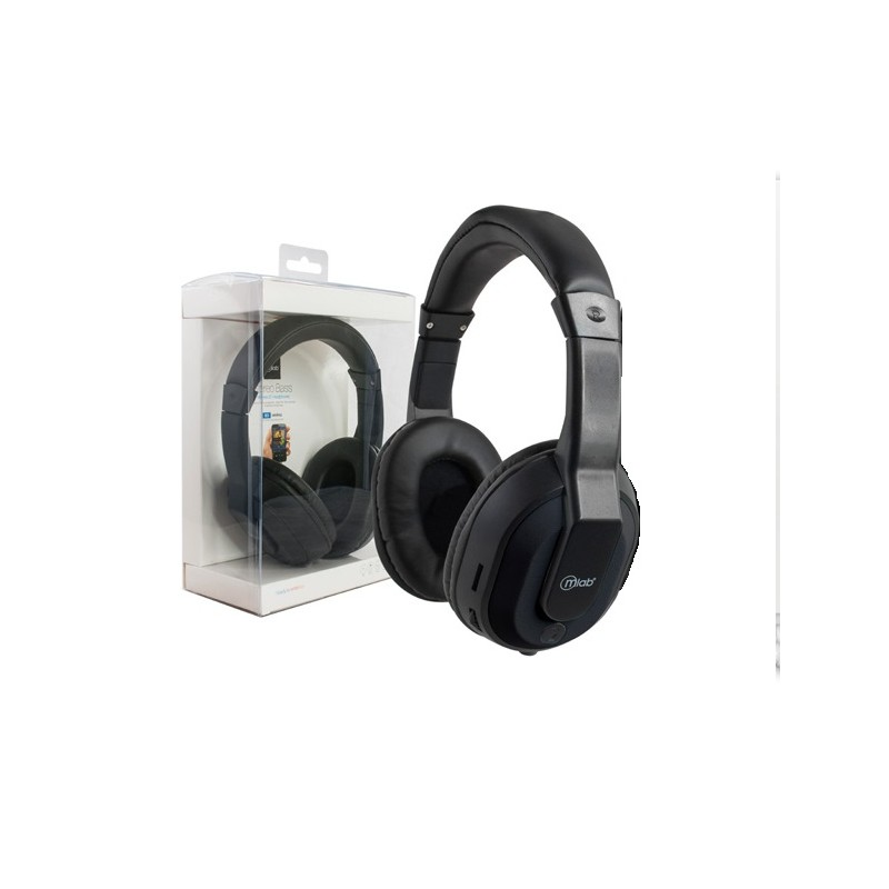 Audifono Bluetooth Negro Wireless Style Micrloab® Tecnología