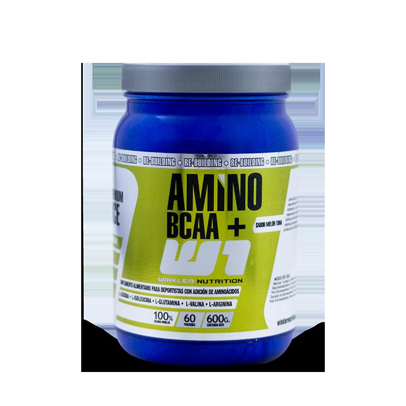 AMINO BCAA 600GR LIMONADA Suplementos Alimenticios