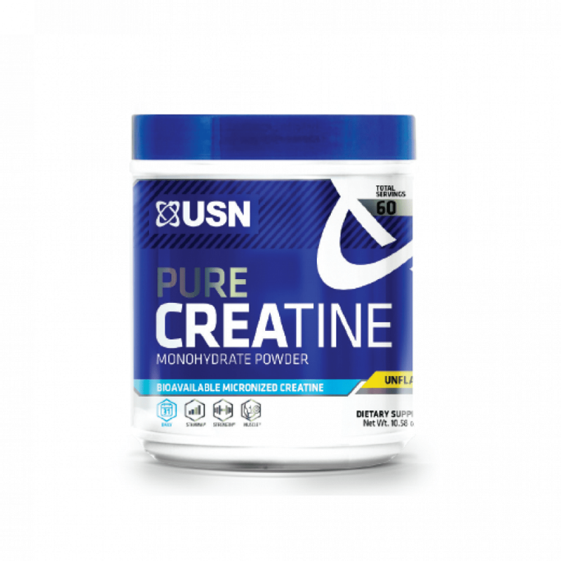 PURE CREATINE USN 300GR Suplementos Alimenticios