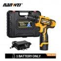 Gran oferta 12 V/18 V Litio destornillador inalámbrico/batería Mini taladro eléctrico Herramientas