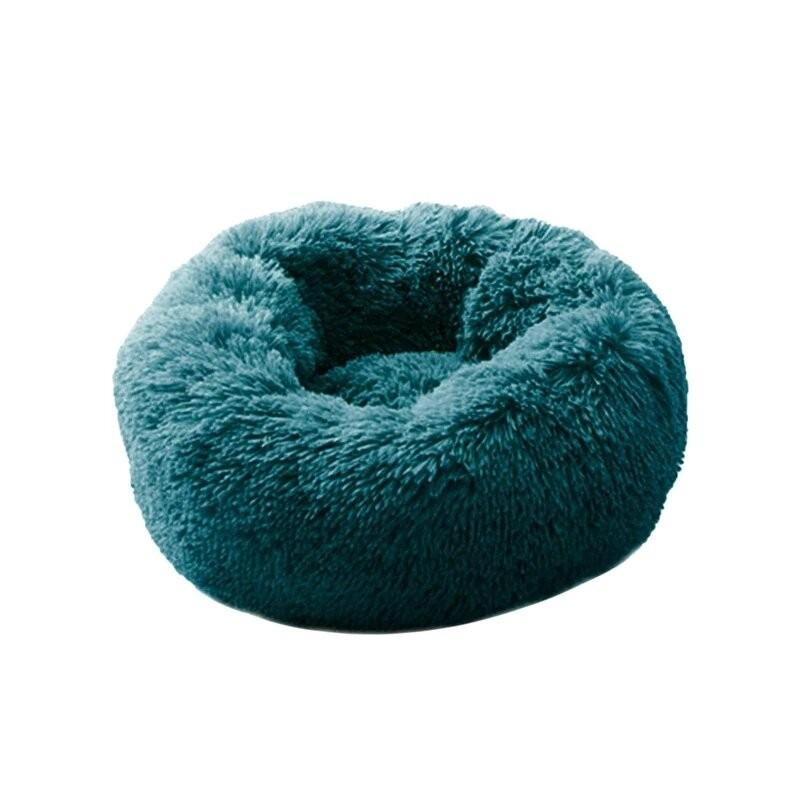Cama para perro supersuave, redonda, lavable, larga, Perrera de felpa, esterillas de terciopelo para casa de gato, sofá para ...