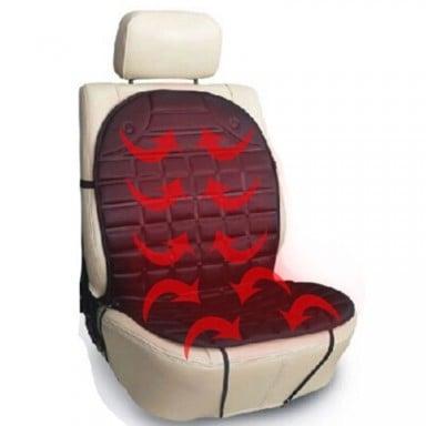 12V calientan funda de cojín de asiento de coche asiento calentador del invierno cojín para hogar cardriver cojín de asiento con