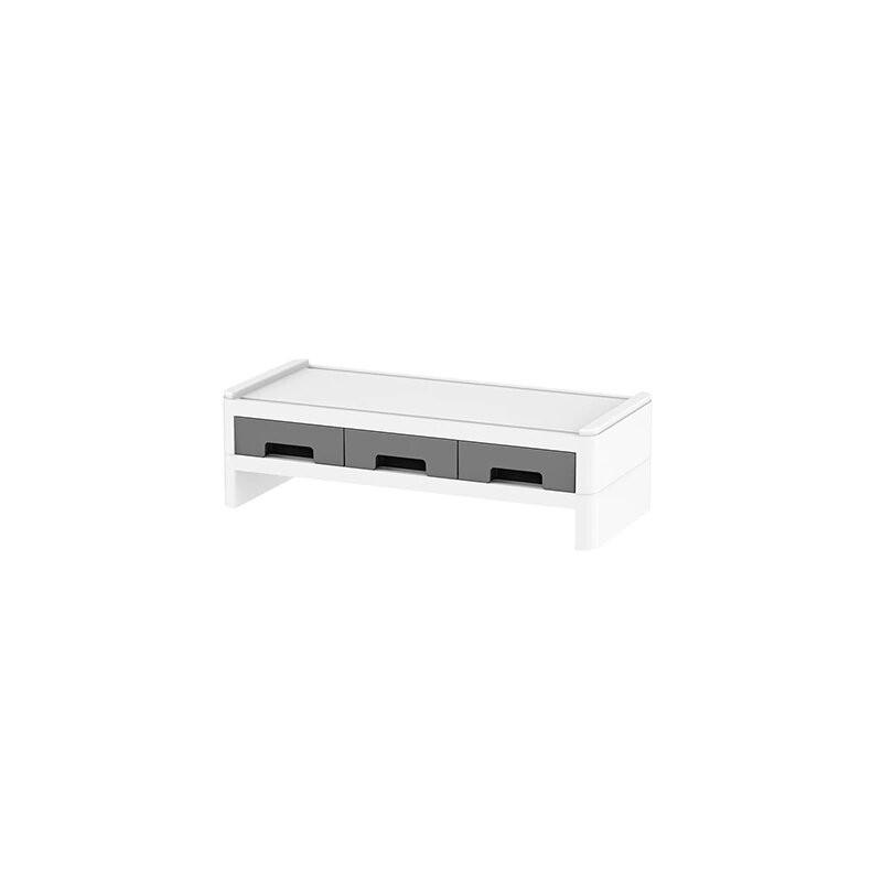 Creative escritorio de la computadora de almacenamiento de teclado soportes cajón de papelería libros de bolígrafo estante de...